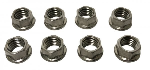 Flanged Stainless Nuts